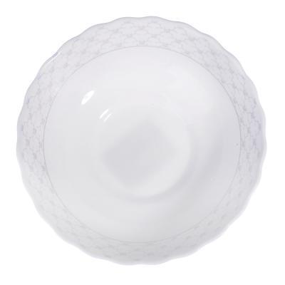 818-435 MILLIMI Лаура Салатник, опаловое стекло, 176мм, 600 мл, HW70T-16178