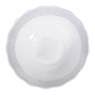 818-502 MILLIMI Беата Салатник, опаловое стекло, 151мм, 412мл, HW60T-17068A
