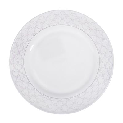 "818-520 Тарелка десертная, опаловое стекло, 20 см, MILLIMI ""Лаура"""
