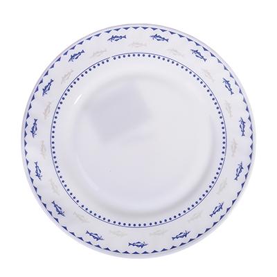 "818-524 Тарелка десертная, опаловое стекло, 20 см, MILLIMI ""Ванда"""