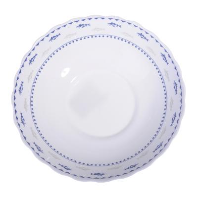 818-533 MILLIMI Ванда Салатник, опаловое стекло, 227мм, 1470мл, HW90T-17027C