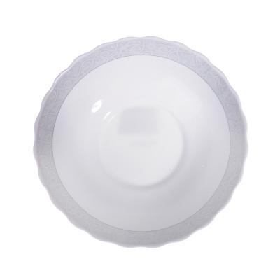 818-535 MILLIMI Беата Салатник, опаловое стекло, 227мм, 1470мл, HW90T-17068A