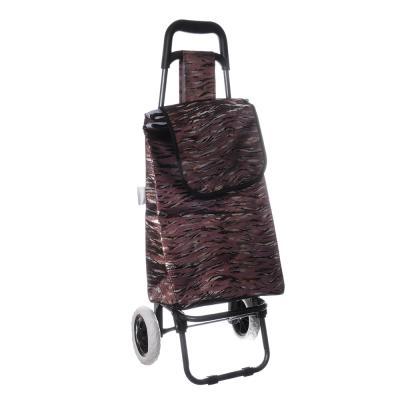467-180 Тележка + сумка, грузоподъемность до 30кг, брезент, 36х28х91см (сумка 33x22x55см), 2 цвета