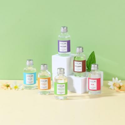 536-283 LADECOR Ароманабор 10мл с 6 палочками, 6 ароматов (зеленый чай,лаванда,роза,ваниль,океан,корица)
