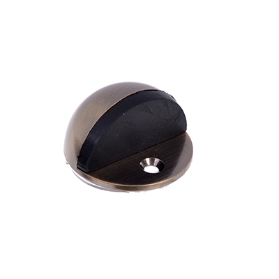 602-114 Упор дверной , металл, с шипом, полусфера, бронза