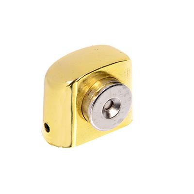 602-122 Упор дверной 09 магнитный, 31x37мм, золото, цинк