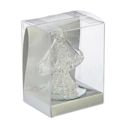 509-759 Фигурка Коллекция Хрусталики в виде корабля, стекло, 7,5х5,7х4,7см