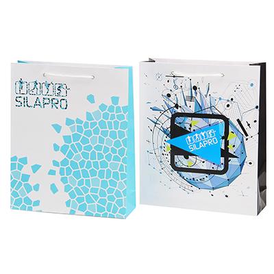 184-042 SILAPRO Пакет подарочный, 28x33,5x8,5см, 2 дизайна