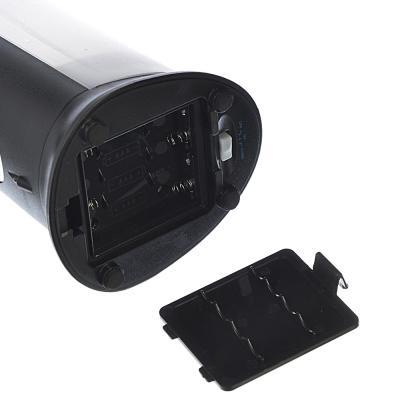 542-117 Диспенсер для жидкого мыла сенсорный, 400мл, пит 4ААА, хром/черный