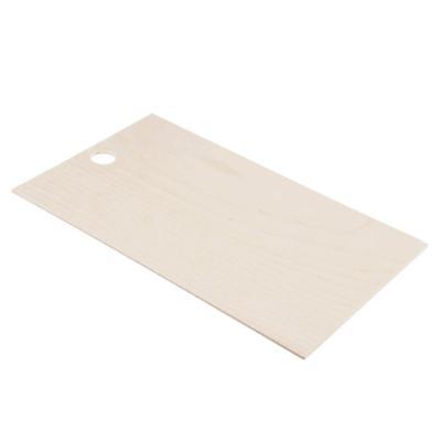 851-160 Доска разделочная из фанеры, 25x15x0,4 см