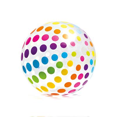 061-001 Мячик надувной, 107 см, возраст 3+, INTEX, 59065