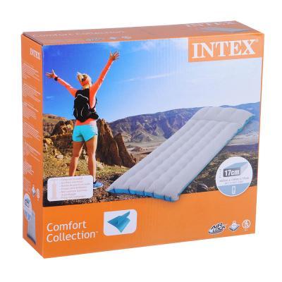060-005 Матрас кемпинговый надувной INTEX, 184х67х17 см, 67997