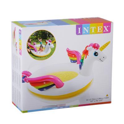 109-263 Надувной бассейн для детей INTEX 57441 Единорог 140х124х34 см с 2 лет,