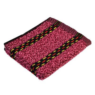 """492-026 Полотенце для рук махровое, хлопок, 30х70см, 3 цвета, """"Полоска"""""""