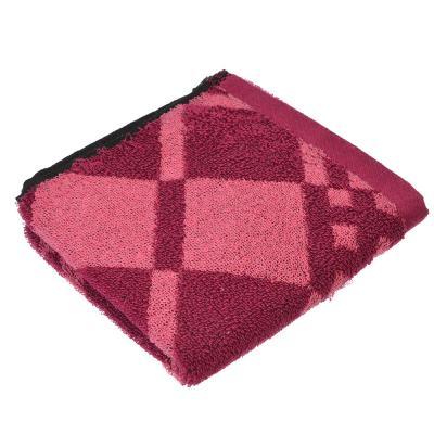 "492-028 Полотенце для рук махровое ""Ромбы"" 33х73см"