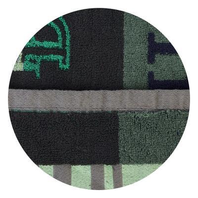 """492-030 Полотенце для рук махровое, хлопок, 33х73см, 3 цвета, """"Полоска"""""""