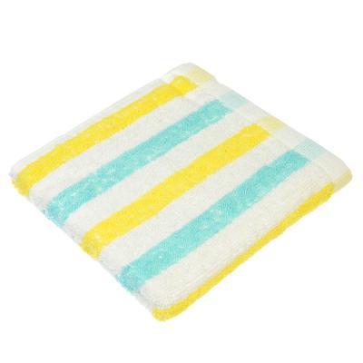 """492-036 Полотенце для рук махровое, хлопок, 30х70см, 3 цвета, """"Полоска"""""""