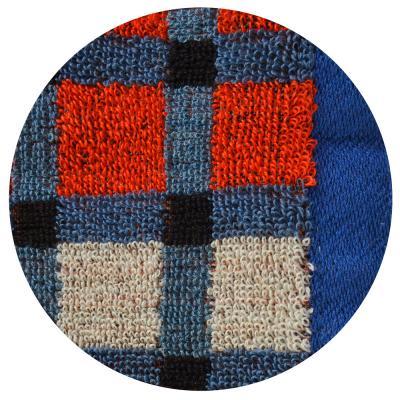"""492-042 Полотенце для рук махровое, хлопок, 33х74см, 2 цвета, """"Клетка"""""""