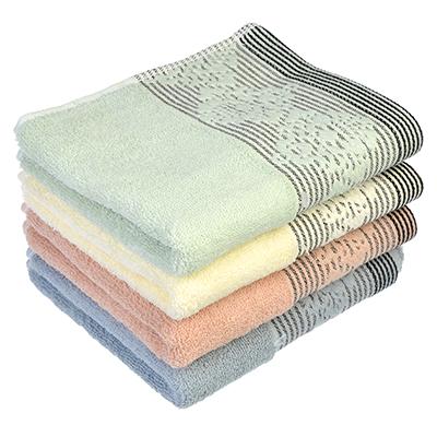 """492-043 Полотенце для рук махровое, хлопок, 33х75см, 4 цвета, """"Грация"""""""