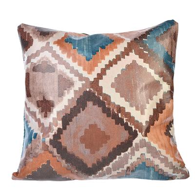 497-015 Декоративная наволочка для подушки, искусственная кожа, 40х40см