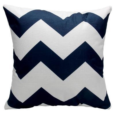 497-018 Декоративная наволочка для подушки, рогожка, 40х40см