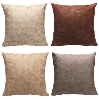497-019 Декоративная наволочка для подушки, рогожка, 40х40см