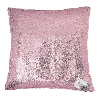 497-020 Декоративная наволочка для подушки, рогожка, 40х40см