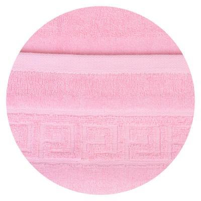 """492-057 Полотенце для рук махровое, хлопок, 34х74см, 4 цвета, """"Греция"""""""
