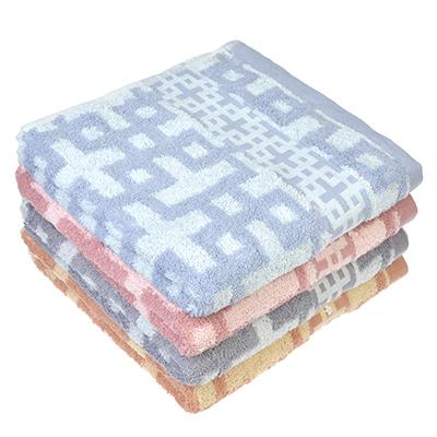"""489-125 Полотенце для лица махровое, хлопок, 50х100см, 4 цвета, """"Афины"""""""