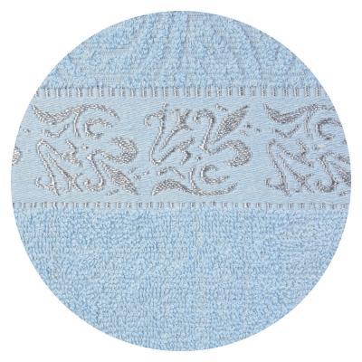 """489-126 Полотенце для лица махровое, хлопок, 50х100см, 6 цветов, """"Афины"""""""