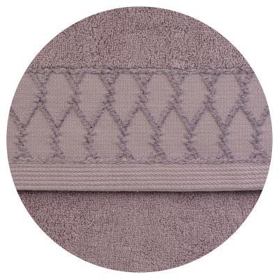 """492-071 Полотенце для рук махровое, хлопок, 33х75см, 4 цвета, """"Плетение"""""""