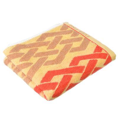 """492-074 Полотенце для рук махровое, хлопок, 33х75см, 4 цвета, """"Узор"""""""