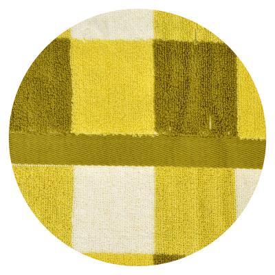 """492-078 Полотенце для рук махровое, хлопок, 33х75см, 3 цвета, """"Клетка"""""""