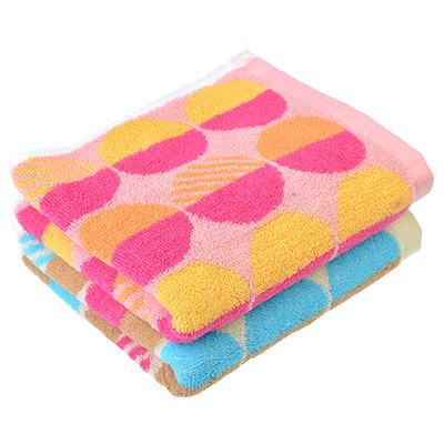 492-079 Полотенце для рук махровое, хлопок, 33х72см, 2 цвета