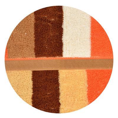 """492-083 Полотенце для рук махровое, хлопок, 34х73см, 2 цвета, """"Полоска"""""""
