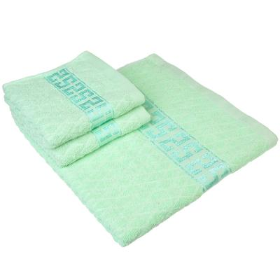 484-814 Набор полотенец банных махровых: 70х140см, 30х70см