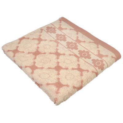 """484-821 Полотенце банное махровое, хлопок, 70х140см, 3 цвета, """"Цветные истории"""""""