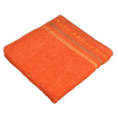 """484-825 Полотенце банное махровое, хлопок, 66х132см, 4 цвета, """"Линия"""""""