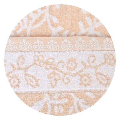 """484-838 Полотенце баннер махровое """"Цветущие веточки"""" 70х140см"""