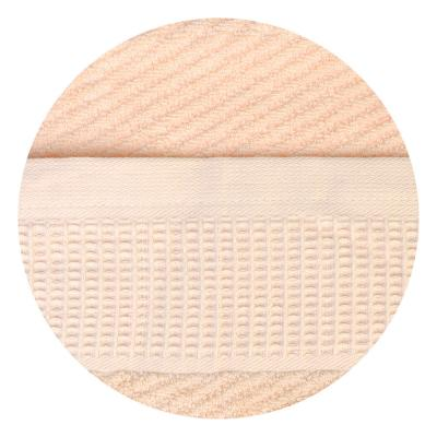 "484-846 Полотенце махровое, 100% хлопок, 70х140см, ""Волна"", 4 цвета"