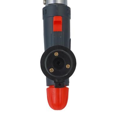116-028 Горелка газовая ЧИНГИСХАН с пьезорозжигом, цанговый захват, широкое сопло, латунь; 16х5,5х3,2см