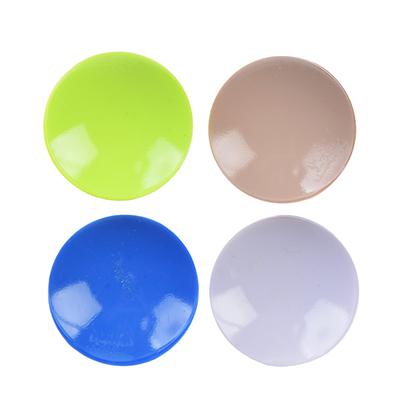 416-177 Защита для мебели универсальная 4 шт., силикон, 4х4x0,8см, 4 цвета