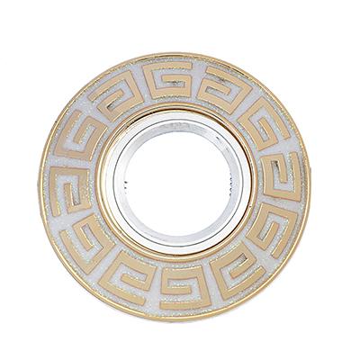 417-058 FORZA Светильник встраиваемый, № 14 лампа MR16, цоколь GU 5.3, пластик, d11,5см ±0,5см