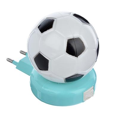 417-067 Ночник светодиодный с выключателем Мяч, пластик, 220 В