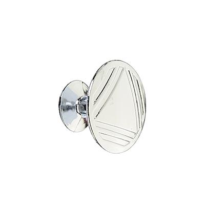 621-095 Ручка мебельная кнопка К-06(СР) хром