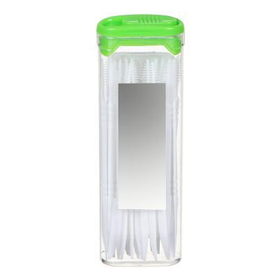 437-259 VETTA Зубочистки 30 шт, пластик, пластиковая уп. с зеркалом