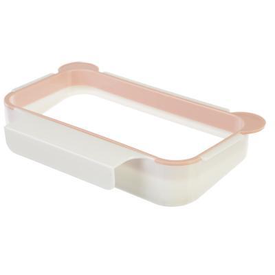 438-097 Держатель-зажим для пакетов, 18х9,5х3,5 см, пластик