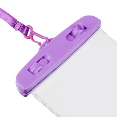 916-052 Чехол для телефона водонепроницаемый на шнурке FORZA 10х20 см, ПВХ, 6 цветов