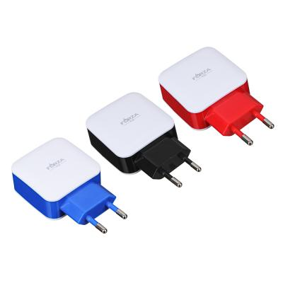 916-066 Зарядное устройство FORZA 2 USB, 2А, 220 V, пластик