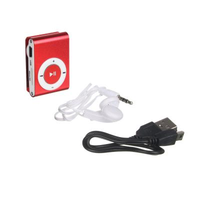 916-069 FORZA Аудио-плеер, MicroSD-слот, WAV, WMA, MP3, 85мАч, 3.5мм USB 2.0/1.1, металл, науш 60см, FM, 4цв
